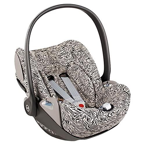 Funda de verano Cybex Cloud Z para portabebés, color beige, ajuste perfecto, suave con certificado Öko-Tex 100, algodón que absorbe el sudor y suave para tu bebé.