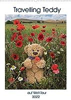 Travelling Teddy auf Welt-Tour (Wandkalender 2022 DIN A2 hoch): Diese Sammlung von hochqualitativen Bildern zeigt John James, den Travelling Teddy, auf seiner Welt-Tour (Monatskalender, 14 Seiten )