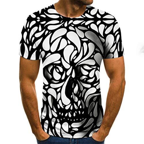 Mr.BaoLong&Miss.GO Hombres Nueva Camiseta Personalizada Camisetas De Impresión 3D Tops Deportivos Casuales Y Cómodos Hombres Camisetas De Manga Corta Camisetas