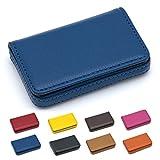 Padike Business nome carta di lusso in pelle PU, Business nome porta carte di credito ID c...