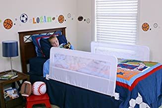Regalo Swing Down Double Sided Bed Rail Guard, with Reinforced Anchor Safety System