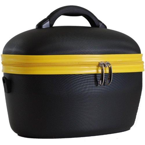 DAVIDT'S Vanity rigide Minka - noir/jaune