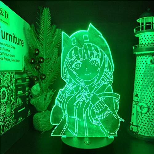 Pelotillas de chocolate 3D llevó la luz del anime Phantom Lighting Lampara para la Navidad ERJIE
