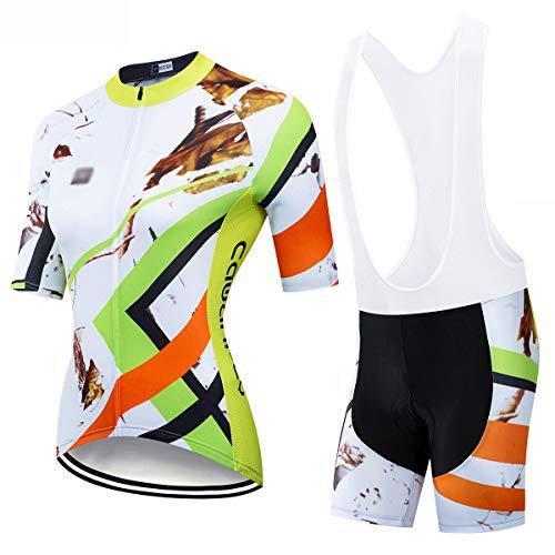 YXX Ciclismo Maillot Mujer Verano Maillot MTB + Culotte Pantalones Cortos Culotte...