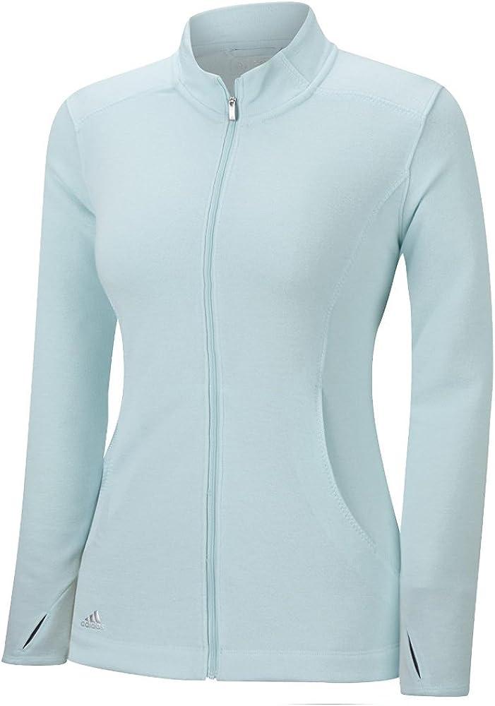 adidas Golf Women's Essentials 3-Stripe Shirt Full Max 84% OFF Zip unisex Layering