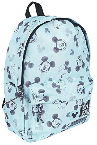 Disney Mickey Mouse Kinderrucksack - Go For It! - Hellblau