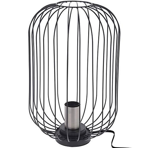 Home @ Styling Collection LOFT - Lámpara de mesa (35 cm), color negro