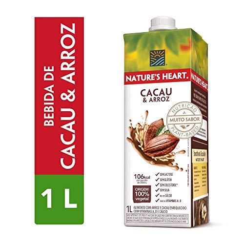 Bebida Vegetal, Natures Heart, Cacau e Arroz, 1L