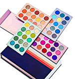 Rsentera Eyeshadow Palette 60 Colors Mattes And Shimmers High Pigmented Color Board Palette Long Lasting Makeup Palette Blendable Professional Eye Shadow Make Up Eye Cosmetic 60 ml