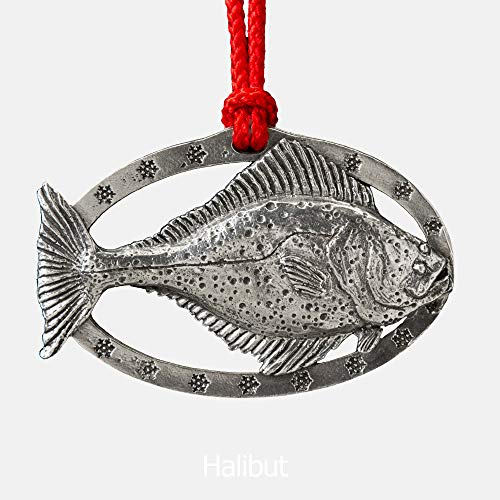 Halibut Pewter Ornament, S060OR