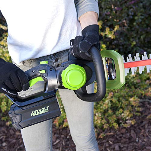 Greenworks 24-Inch 40V Cordless Hedge Trimmer, 3.0Ah Battery and Charger Included