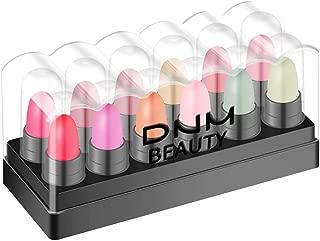 gLoaSublim Lipstick Set,12Pcs Long Lasting Matte Effect Moisturizing Lipsticks Color Change Lip Makeup 1