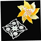 3D Girandola Fiore Spinner Fustelle Stencil Metal Template Stampi, Strumento di Goffratura per Card Making Scrapbooking DIY della Carta 'Album