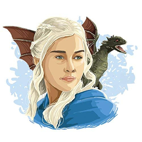 Lsmaa Daenerys Targaryen, Moeder van Draken, Game of Thrones Sticker | Laptop, Auto, Koelkast, Muursticker