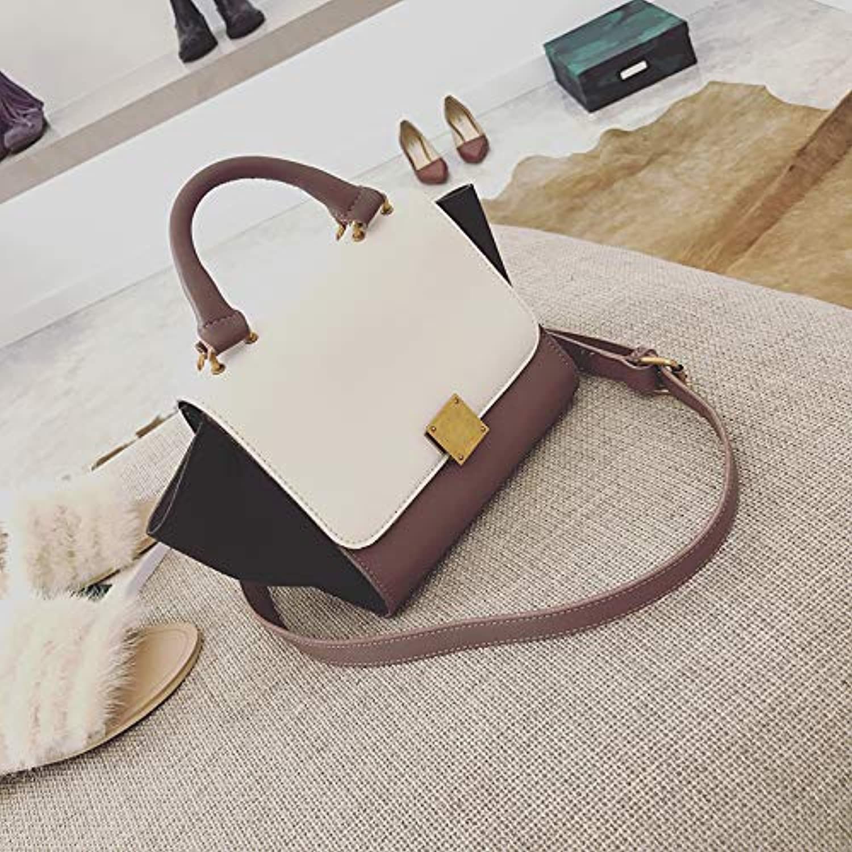 WANGZHAO Handbag, Shoulder Bag, Satchel Bag, Retro European Fashion Bat Bag