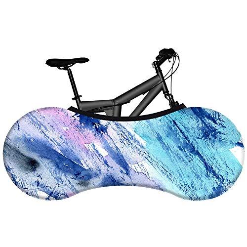 LZZDZK Cubierta de Polvo de Bicicleta Tela Elástica Pigmento Ambiental Sin desvanecer Cubierta de Bicicleta de Carretera Tapa de Polvo de neumáticos (Color : 25)