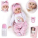 OYESY 22pulgadas 55cm Bebes Reborn muñecas niñas Silicona Blanda Reales Toddler Recien Nacidos...