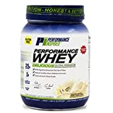 Performance Inspired Nutrition WHEY Protein Powder - All Natural - 25G - Contains BCAAs - Digestive Enzymes - Fiber Packed – Vanilla Bean – 2lb