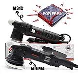 Maxshine Pro DA Dual Action Polisher & Polisher Kit (M15 Pro, 5''+3'' Double DA Set)