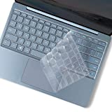 Lapogy Keyboard Cover for Microsoft Surface Laptop Go 12.4 Inch(2020),Ultra Thin Clear Soft-Touch TPU Keyboard Skin,Surface Laptop Go (2020) Accessories, Us Layout