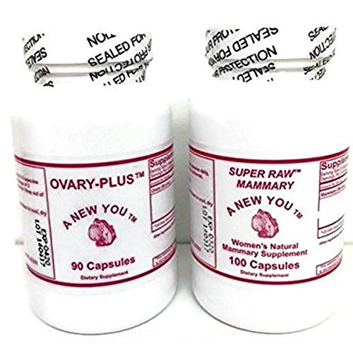 Ovary and Mammary Glandular Pills Two Pack for Cross-Dressing Men and Trans-Women