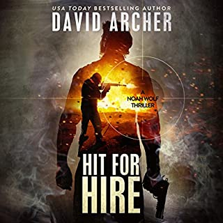 Hit for Hire audiobook cover art