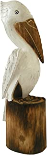 Cohasset Gifts Pickford Solid Wooden Pelican, Approximately 24