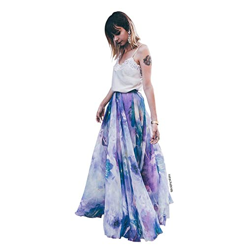 Watercolor Skirt: Amazon.com