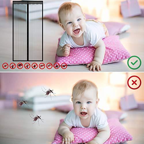 moinkerin Contrapuertas con mosquitera