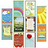 Hallmark Teacher Appreciation Cards Assortment for Preschool, Kindergarten, Elementary School, Graduation or Back to School (10 Cards and Gift Card Holders with Envelopes)