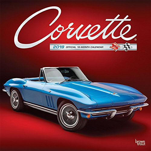 Corvette 2019 Square Wall Calendar