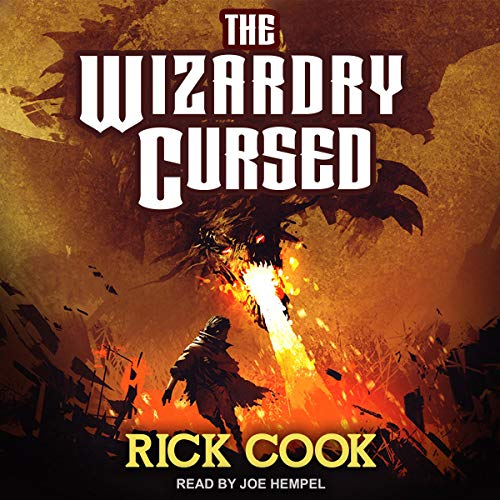 The Wizardry Cursed audiobook cover art