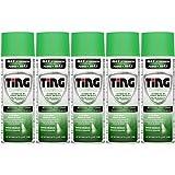 Ting Foot & Jock Itch, Antifungal Spray Powder 4.5 oz (128 g)(Pack of 5)