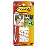 3M コマンド タブ キレイにはがせる 両面テープ SSサイズ 耐荷重100g 24枚 CM3PSS