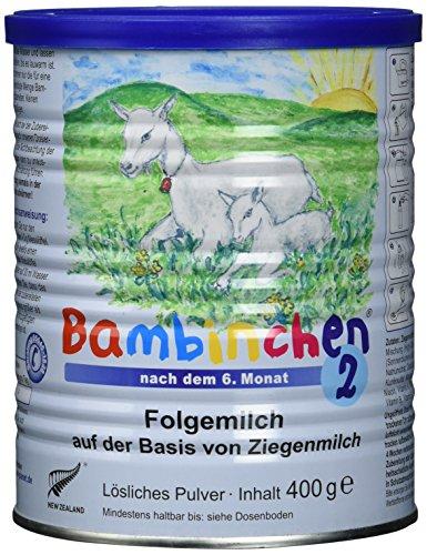 Säuglingsnahrung Bambinchen 2 mit gesunder Ziegenmilch