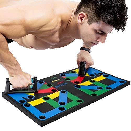 28-in-1-Multifunktions-Push-up-Board, einfaches und tragbares Outdoor-Fitnessgerät für den Heimgebrauch, geeignet für das Training von Brust, Bauch, Schulter und Armmuskeln bei Männern und Frauen