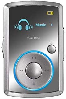 Sandisk 8GB Sansa Clip MP3 Player with Radio - Silver