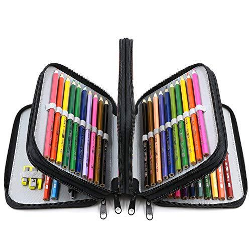 estuche con lapices de colores fabricante JSBelle