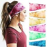 Headbands For Women, 6 PCS Yoga Running Sports Cotton Headbands...