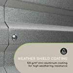 Blumfeldt nova high grow garden bed: raised growing bed, material: wpc with uv, rust and frost protection, wood look… 11 weatherproof: sturdy frame construction lets this garden weather any storm. The bed is made of steel corrugated iron and is protected against weather with a special 120 g / m² zinc-aluminium weather-shield-coating. Fast installation: the installation of the blumfeldt raised bed is straightforward and fast. Versatile: tasty, fresh and local: with this raised garden bed you can grow a variety of fruits and vegetables.