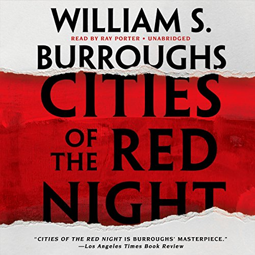 Cities of the Red Night audiobook cover art