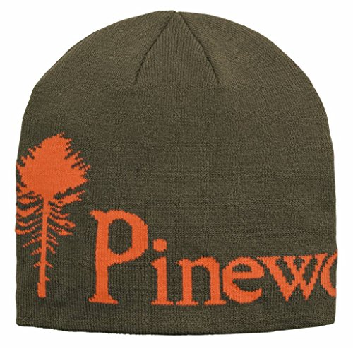 Pinewood 5897 Strickmütze Meliert Grün/Orange (120)