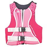 STEARNS Kids Life Vest | Youth Hydroprene Life Jacket | 50 to 90 Pounds, Blue