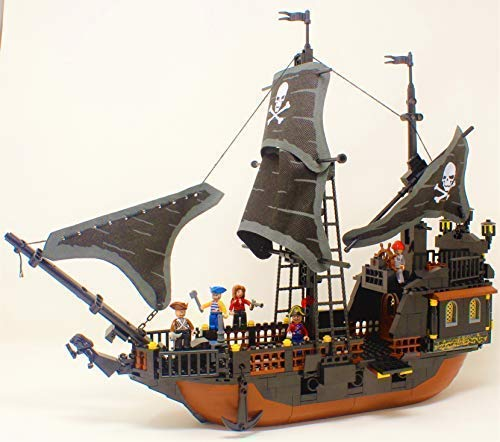 Ingenious Toys The Legend of Jack Sparrow Pirates Bootsbau - ohne Kenzeichen Baukasten #I-115