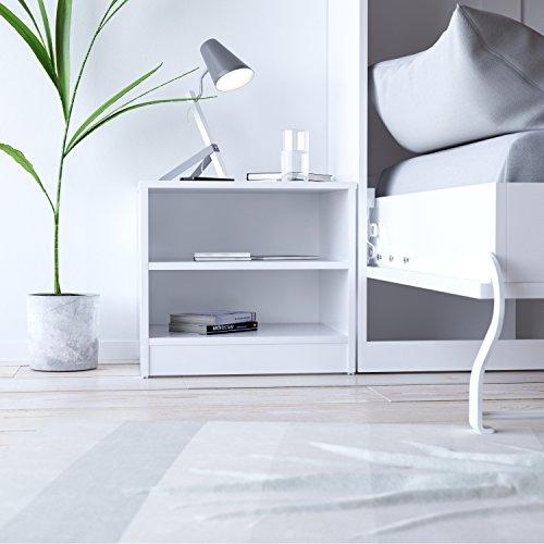 SMARTBett Nachttisch Weiß passend für Schrankbetten von SMARTBett 90-140 Farbauswahl