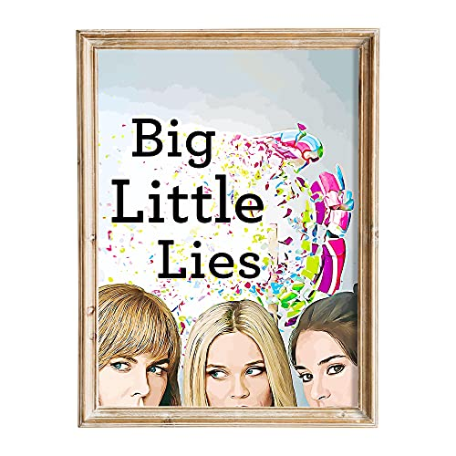 FANART369 Big Little Lies #2 Poster de la série TV Format A3 Original Fanart Art Art mural Print Decor 29,7 x 42 cm
