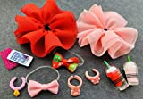 lps Pet Shop lps Accessories 11pcs Lot lps Accessories Skirt Drinks Cellphone Collars Bow Necklace for lps Cats and Dogs