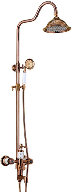 Duschset Continental Antike Kupferdusche Heier Und Kalter Wasserhahn