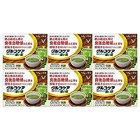 【6個セット】グルコケア 粉末スティック 濃い茶 168g(5.6g×30袋)[機能性表示食品]