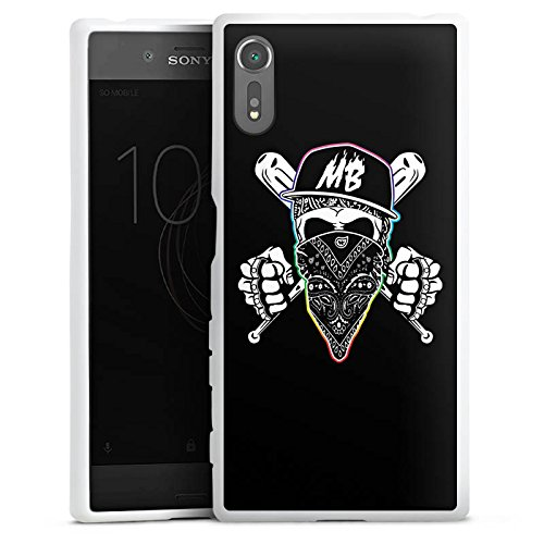 DeinDesign Silikon Hülle kompatibel mit Sony Xperia XZ Case Schutzhülle Montanablack Gaming Merchandise Fanartikel